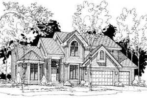 Traditional Exterior - Front Elevation Plan #334-112