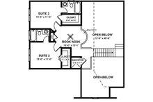 Country Floor Plan - Upper Floor Plan Plan #56-245
