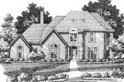 European Style House Plan - 5 Beds 4.5 Baths 4478 Sq/Ft Plan #141-115