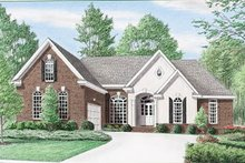 Traditional Exterior - Front Elevation Plan #34-137