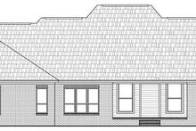 Home Plan - Traditional Exterior - Rear Elevation Plan #21-286