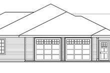 Home Plan - Craftsman Exterior - Other Elevation Plan #124-754