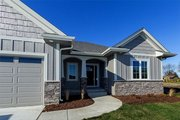 Ranch Style House Plan - 2 Beds 2 Baths 1703 Sq/Ft Plan #70-1458 Exterior - Front Elevation