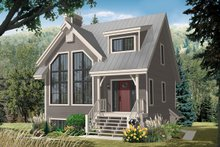 House Design - Country Exterior - Front Elevation Plan #23-2419