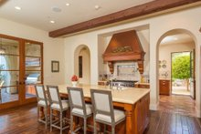Mediterranean Interior - Kitchen Plan #484-8