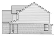 Traditional Style House Plan - 4 Beds 2.5 Baths 2559 Sq/Ft Plan #46-878 Exterior - Other Elevation