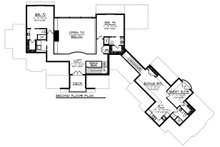 Craftsman Floor Plan - Upper Floor Plan Plan #70-1288