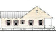 Cottage Style House Plan - 2 Beds 2 Baths 888 Sq/Ft Plan #514-11 Exterior - Other Elevation