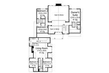 Craftsman Floor Plan - Upper Floor Plan Plan #51-574