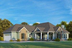 Craftsman Exterior - Other Elevation Plan #437-113