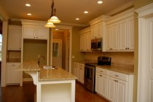 Traditional Interior - Kitchen Plan #430-57
