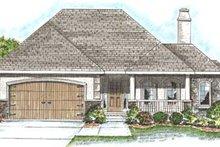 Dream House Plan - European Exterior - Front Elevation Plan #20-1375