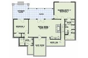Craftsman Style House Plan - 4 Beds 5 Baths 3734 Sq/Ft Plan #17-2595 Floor Plan - Lower Floor Plan
