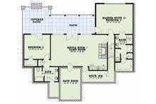 Craftsman Floor Plan - Lower Floor Plan Plan #17-2595