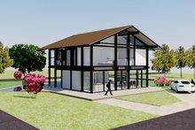 Architectural House Design - Front Left