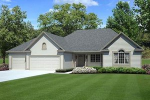 Traditional Exterior - Front Elevation Plan #312-251