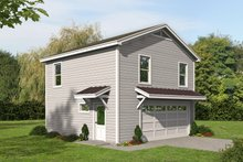 Dream House Plan - Traditional Exterior - Front Elevation Plan #932-335