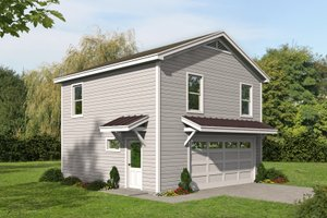 Traditional Exterior - Front Elevation Plan #932-335