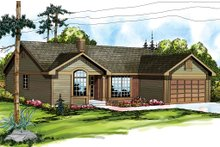 Home Plan - Traditional Exterior - Front Elevation Plan #124-139