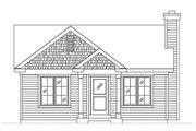 Cottage Style House Plan - 1 Beds 1 Baths 658 Sq/Ft Plan #22-595