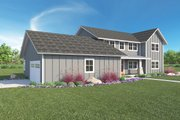 Farmhouse Style House Plan - 3 Beds 2.5 Baths 2889 Sq/Ft Plan #1068-4 Exterior - Front Elevation