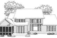 Home Plan - Traditional Photo Plan #70-1037