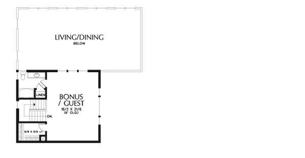House Plan Design - Craftsman Floor Plan - Upper Floor Plan #48-941