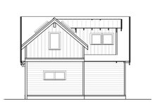 Craftsman Exterior - Other Elevation Plan #895-97