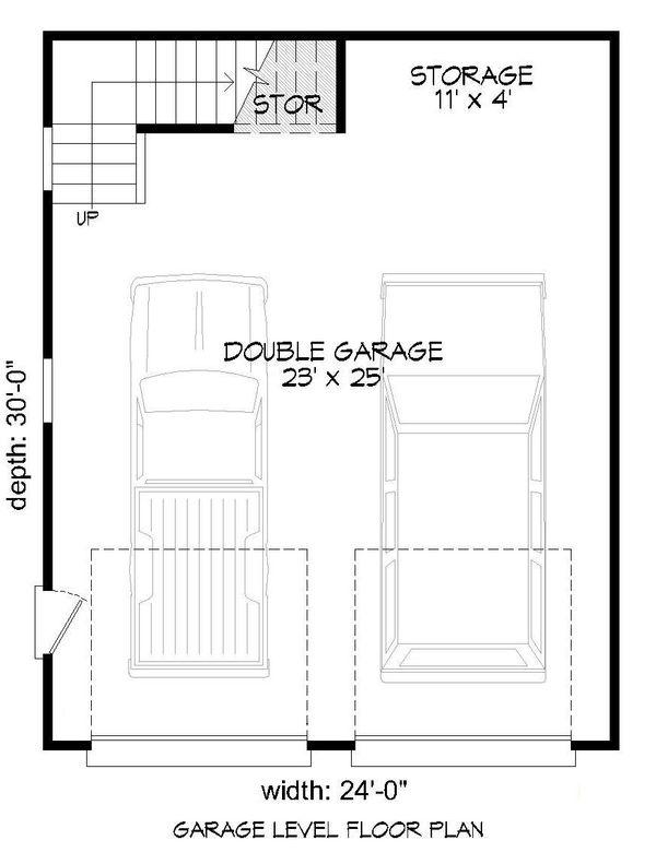 Dream House Plan - Contemporary Floor Plan - Main Floor Plan #932-100