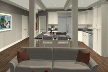 Craftsman Interior - Family Room Plan #56-704