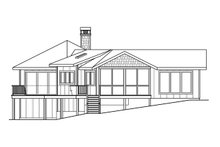 House Plan Design - Ranch Exterior - Other Elevation Plan #124-910