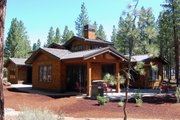 Craftsman Style House Plan - 3 Beds 2.5 Baths 3571 Sq/Ft Plan #434-26 Exterior - Covered Porch