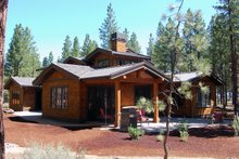 Dream House Plan - Craftsman Exterior - Covered Porch Plan #434-26