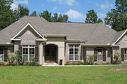 European Style House Plan - 3 Beds 2.5 Baths 2350 Sq/Ft Plan #21-223 Exterior - Other Elevation