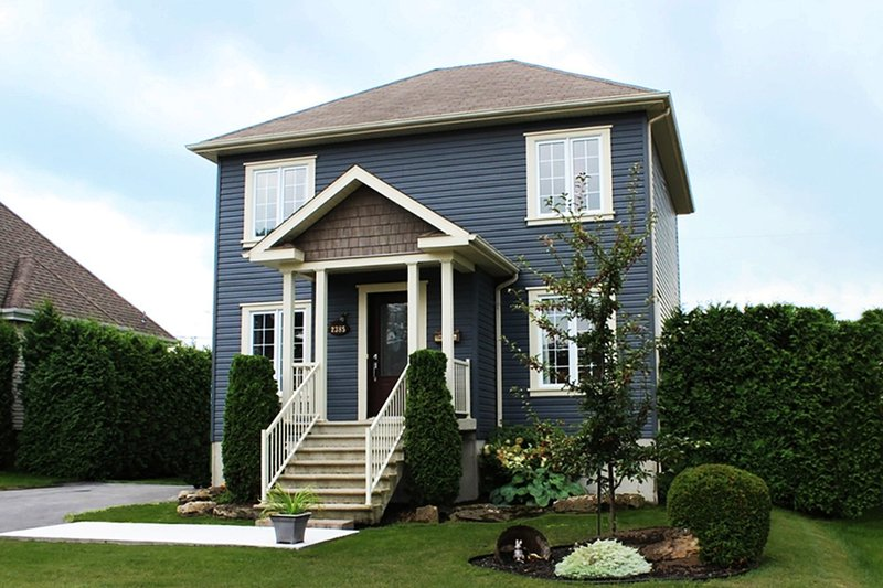 Home Plan - Traditional Exterior - Front Elevation Plan #23-608