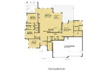 Prairie Floor Plan - Main Floor Plan Plan #1066-79