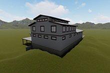 House Plan Design - Farmhouse Exterior - Rear Elevation Plan #1060-80