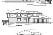Mediterranean Style House Plan - 4 Beds 3 Baths 3408 Sq/Ft Plan #100-418 Exterior - Rear Elevation