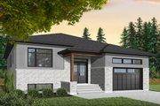 Modern Style House Plan - 3 Beds 2 Baths 1590 Sq/Ft Plan #23-2698