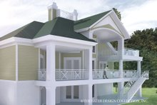 House Plan Design - Southern Exterior - Rear Elevation Plan #930-18