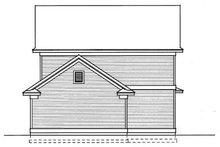 House Plan Design - Cottage Exterior - Rear Elevation Plan #95-234