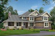 Craftsman Style House Plan - 4 Beds 3.5 Baths 3590 Sq/Ft Plan #132-186