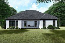 House Plan Design - Traditional Exterior - Rear Elevation Plan #923-145