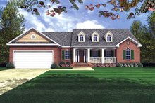 Home Plan - Traditional Exterior - Front Elevation Plan #21-153