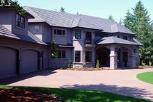 Dream House Plan - European Exterior - Front Elevation Plan #124-603