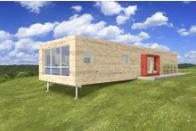 Modern design, Front elevation