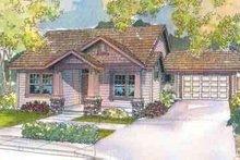 Home Plan - Craftsman Exterior - Front Elevation Plan #124-496