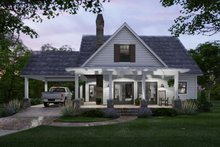 House Design - Cottage Exterior - Front Elevation Plan #120-273