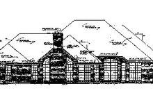 Dream House Plan - European Exterior - Rear Elevation Plan #310-559