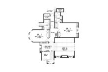 European Floor Plan - Upper Floor Plan Plan #48-625